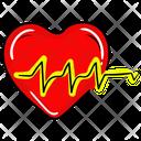 Cardio Heart Heartbeat Icon