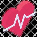 Cardio Cardiogram Heartbeat Icon