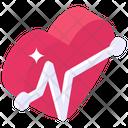 Cardio Pulses Heartbeat Icon