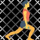 Cardio Exercise Back Icon