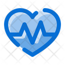 Cardiogram Medical Health Icon