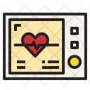 Heart Rate Fitness Watch Smart Watch Icon