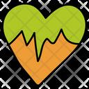 Cardiogram Heart Heartbeat Icon