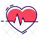 Cardiogram Heart Care Heart Health Icon