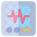 Cardiogram Medical Healthcare Icon