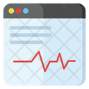 Cardiogram Heart Health Palpitation Icon