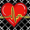 Heartbeat Cardio Human Heart Icon