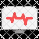 Cardiogram Electrocardiogram Monitor Icon