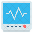 Cardiogram Heart Rate Heartbeat Icon