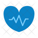Heart Health Cardiogram Healthcare Icon