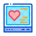 Cardiogram Gadget Treatment Icon