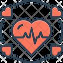 Alive Cardiogram Ecg Icon