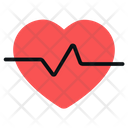 Heartbeat Beating Heart Pulse Rate Icon