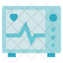 Medical Service Cardiogram Heart Icon