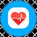 Healthcare Cardiogram Fitness Icon