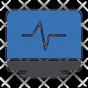 Cardiogram Pulses Beats Icon