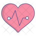 Cardiogram Heartbeat Icon