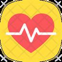 Heart Pulse Heartbeat Icon