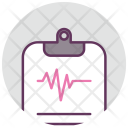 Cardiogram Diagnosis Healthcare Icon