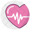Cardiogram Heart Health Icon