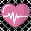 Cardiogram Heart Health Icon