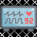 Monitor Heart Pulse Icon