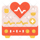 Heart Rate Heartbeat Hospital Icon