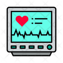 Monitor Electronic Cardiogram Machine Cardiogram Monitor Icon