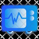 Cardiograph Doctor Medic Icon