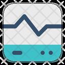 Monitor Heartbeat Pulse Icon