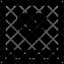 Cardiographic Device Ecg Icon