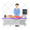 Cardiographic Patient Impedance Cardiography Ecg Icon