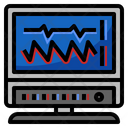 Cardiography Machine Icon