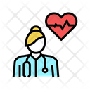Cardiology Medical Specialist Icon