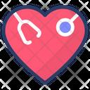 Healthcare Cardiology Checkup Icon