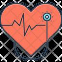 Cardiology Cardio Heart Icon