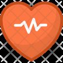 Cardiology Heart Heartbeat Icon