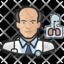 Cardiopulmonologist Asian Male Cardiopulmonologist Asian Icon