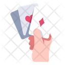 Poker Game Hand Icon