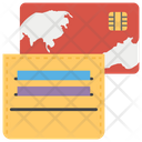 Cards In Wallet Icon