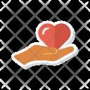 Care Hand Romance Icon