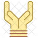 Care Tied Hands Icon