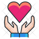 Heart Care Care Icon