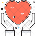 Care Hands Heart Icon