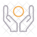 Care Protection Hand Icon