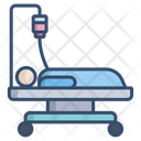 Care Coronavirus Patient Hospital Bed Icon