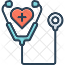 Care Stethoscope Doctor Icon