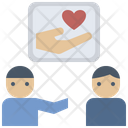 Best Friend Care Friendship Icon
