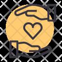 Care Love Romance Icon