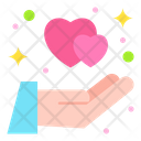 Care Dating Giving Icon